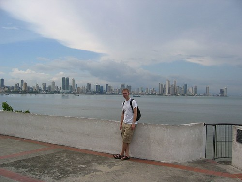 View of Panamá City from Casco Viejo