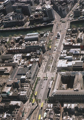 Above O'Connell Street