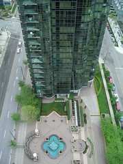 Going down? (VideoVik) Tags: vancouver buildings view coalharbour