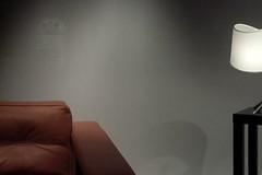 relax ([phil h]) Tags: shadow 15fav paris france reflection lamp topv111 composition 1025fav 510fav french relax grey chair topv333 lifestyle style fv5 topv222 minimalism a200 vignetting parisist composed konicaminolta utatainhalf