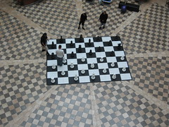 Big-ass checkers - by C.M.