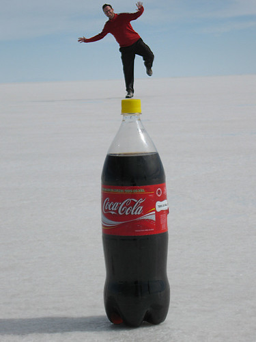 coke balancing | Flickr - Photo Sharing!