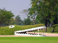 Crocodile in the golf course (_takau99) Tags: trip travel vacation holiday green topv111 golf thailand topv555 topv333 nikon funny asia southeastasia bangkok topv1111 topv444 2006 topv222 thai golfcourse crocodile tropical coolpix april s1 golfclub タイ nikoncoolpix krungthep バンコク takau99 バンコック muangake