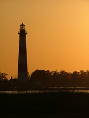 Copper Light (NewNomads) Tags: lighthouse silhouette taggedout northcarolina hatteras outerbanks nationalseashore bodieislandlight 2for2 123travel