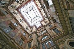 Architectural vertigo (Gianni Dominici) Tags: italy rome roma building canon italia angle 2006 maggio 30d architetture galleriasciarra romamor architettureromamor