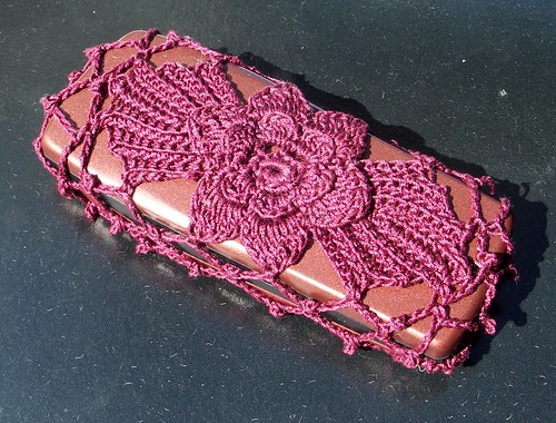 Crochet Geek - Free Instructions and Patterns: Crochet Cell Phone Case