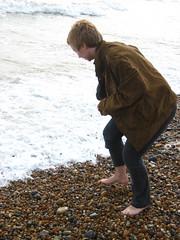 Eleanor on the beach