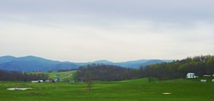 Blue Ridge off I-81, Virginia (Martin LaBar) Tags: mountains field landscape virginia farm hills blueridge thecontinuum