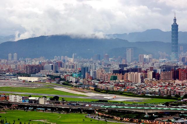 珍珠颱風前之圓山