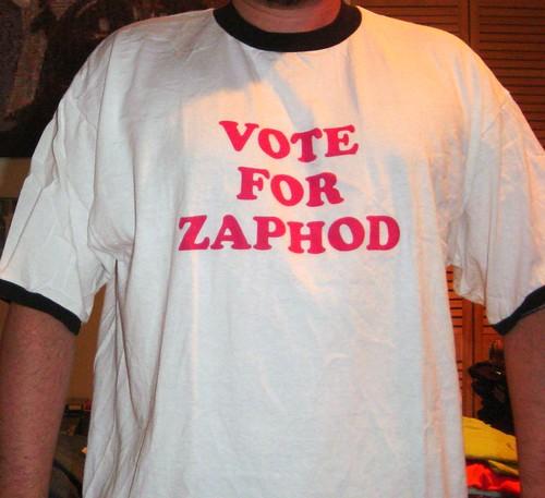 Vote for Zaphod