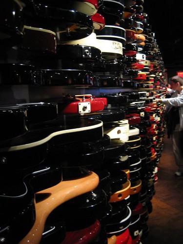 Muro de guitarras