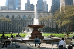 NYC - Midtown: Bryant Park and New York Public...