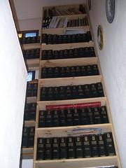 Biblioteca de Manolo (Manolo-lopez) Tags: valencia book biblioteca libros calpe shelve enciclopedia espasa