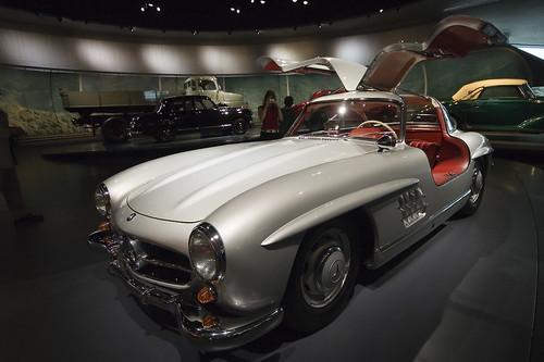 Mercedes 300SL Gullwing from 1952 · Mercedes-Benz 300 SL Gullwing from 1952
