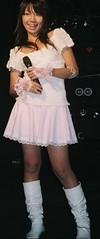 pop princess in white #1 (shiroibasketshoes hopper) Tags: cute japan tokyo pretty dress princess boots pop idol singer crown charming