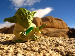 Yoda at Joshua Tree National Park (Heidi & Matt) Tags: tree weird starwars rocks yoda joshua jumbo incongruous