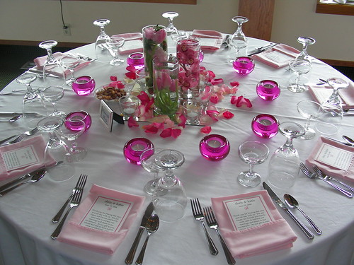 164578908 f1d21b0432 d Baú de idéias: Decoração de casamento rosa I