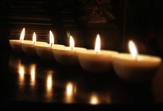 Candles DoF (click_click) Tags: tag3 taggedout dark religious candles tag2 glow tag1 dof religion