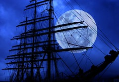 Ghostly gallion (the foto man) Tags: blue moon sailing ship searchthebest sail mast tallship ghostly tallships rigging watertransportation gallion outstandingshots spectnight challengeyouwinner abigfave p1f1 artlibre anawesomeshot firsttheearth frhwofavs ishflickr ftetallships votedthebest naturessilhouettes