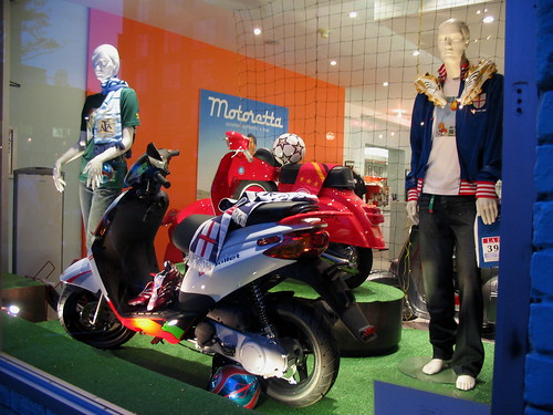 World Cup Display at Motoretta