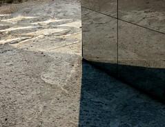 roll223 157a (paulie~) Tags: sculpture reflections garden queens lic socrates caustics