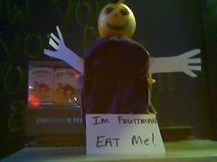 The Return of Fruit Man (JagerMunkey) Tags: food man fruit bar lemon royal camel filter olives crown lime ok cigarrettes thebar funnyfarm tulsaoklahoma tulsaok fruitman thefunnyfarm thebartulsa