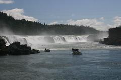 Willamette Falls (awlyons) Tags: nature water oregon river boats waterfall fishing willametteriver