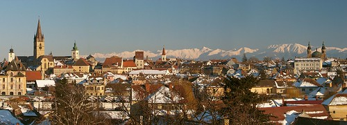 Medieval city of Sibiu-Romania