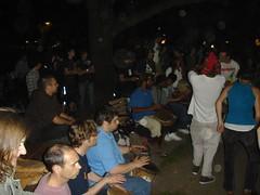 DSC08961.JPG (Lick My Lens Cap) Tags: park friends toronto june hippies fun outdoors fire drums dance picnic downtown drum hippy 2006 queenspark firespinning poi drummer hippie drumming jam drumcircle drummers firepoi firetwirling hff drummersinexile hooray4fun hoorayforfun