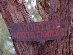 Abortion hurts families