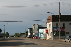 Mossbank (Edward Willett) Tags: street buildings town saskatchewan mossbank