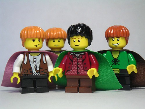 Hobbits from the Shire by Dunechaser.