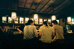 in between (* tathei *) Tags: city people film japan restaurant tokyo natura gourmet fujifilm dining minatoku iso1600 gonpachi nishiazabu classica