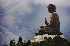 Buddha@Hong Kong (hk_traveller) Tags: china trip travel vacation color green 20d canon hongkong photo interestingness interesting asia flickr buddha canon20d traveller hong kong explore turbo   1000views  douban top500 i500 view1000 turbophoto np360 abigfave