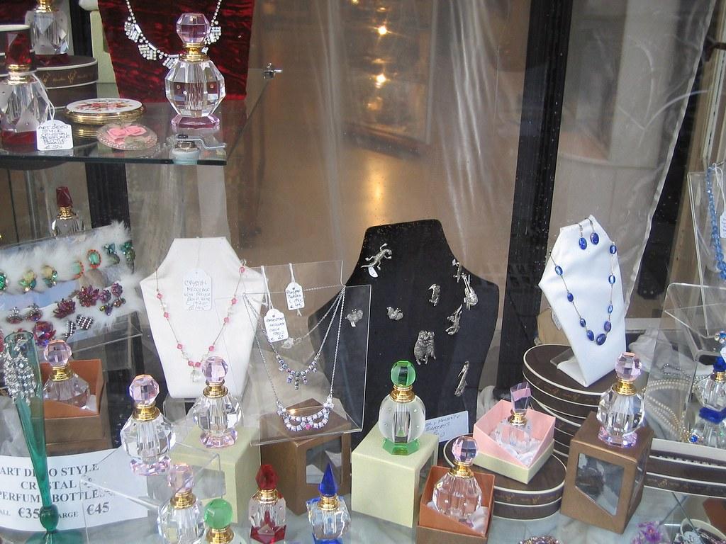 Shop window in Andrew Street