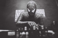 DJ Spider Rimo Live @ La Pointe, Genve (Delgoff.) Tags: bar mix dj geneva spiderman turntable genve lapointe
