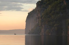 Bon Echo Canoe with Cliff