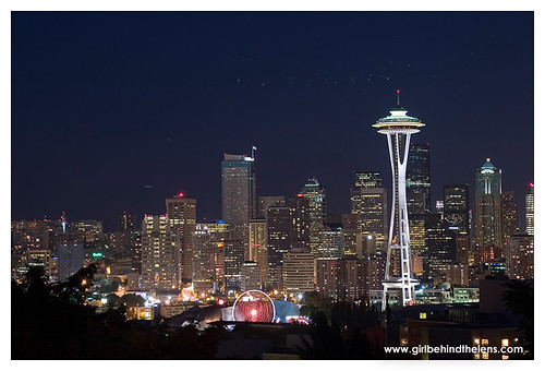 Seattle Skyline from Kerry Park on Queen Anne hill.