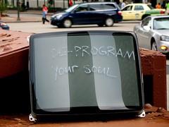 de-program (the monk) Tags: red chicago cars tv steel tube shalliputitontheunderhillaccountseñor deprogramyoursoul