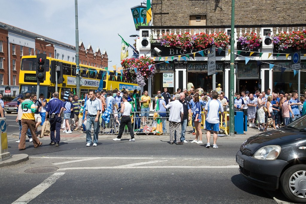 GOING TO THE MATCH - DUBLIN