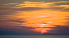 Sorrento Sunset (Stephen P. Johnson) Tags: sunset italy sun islands mediterranean italia explore napoli getty sorrento accept ischia procida submit golfo top20clouds isloa may062001