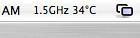 Another New Record!! 34C! (FHKE) Tags: apple macintosh mac macbook coreduotemp elvisf