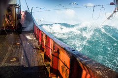 Beam trawler in Rough Weather (cefasphotos) Tags: beam trawler beams weather rough sea storm seas fish fisheries boat monger fishery ocean blue marine activity vehicle
