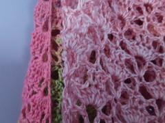 20161208_160857_001 (tannie) Tags: amsterdam amsterdamzuidoost colour crochet fun goudenleeuw hobby merino nederland noordholland shawl southbayshawl zuidoost green pink roze tulip
