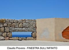 CORSO DI FOTOGRAFIA - PROVERA (unitrecollegno) Tags: muro mare fotografia unitre collegno corsodifotografia orizzonte finestra