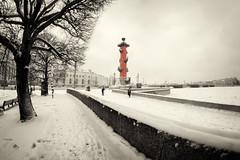 Photo-session in color -    (Valery Parshin) Tags: russia saintpetersburg stpetersburg valeryparshin vasilyevskyisland ingermanland neva canoneos600d fisheye samyang sepia blackandwhite