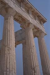 Temple of Afea (Detail) (johnthurm) Tags: greece aegina greektemple saronicislands
