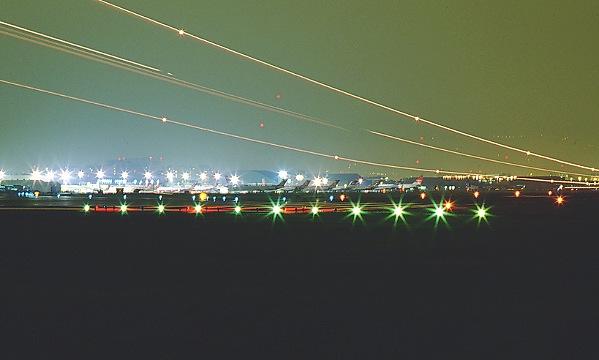 I026台北松山機場夜景