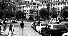 (mgkm photography) Tags: urban blackandwhite bw blancoynegro portugal monochrome 50mm calle europe bokeh lisboa lisbon candid streetphotography gimp streetphoto rua lissabon pretoebranco blackandwhitephotography streetshot urbanphotography travelphotography lisboetas fotografiaurbana lisboanarua candidstreet nikonphotography opensourcephotography ilustrarportugal d7000 bokehphotography europeanphotography bokehstreet streettogs