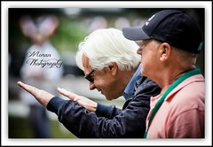 "Baffert telling a certain horse, ""I'm not worthy"". (EASY GOER) Tags: horses horse ny newyork sports race canon track competition running racing historic 5d halloffame athletes races legend thoroughbred equine thoroughbreds belmontpark markiii equines belmontstakes triplecrownwinner bobbafferttrainee"